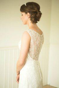 Budget bruiloft jurk
