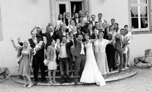 Budget bruiloft vrienden en familie