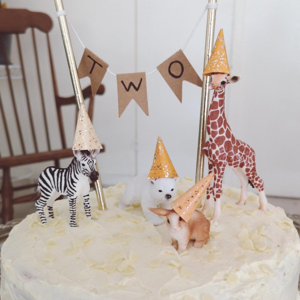 verjaardagstaart diertjes schleich