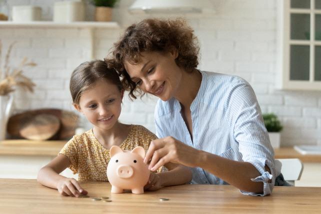 Sparen voor je kind